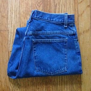 1990s LL BEAN high waisted mom jeans